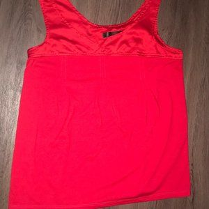Apostrophe Intimate Red Sleeveless Blouse Womens M